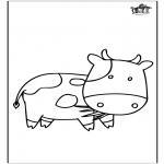 Dyre-malesider - Cow 3