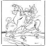 Dyre-malesider - Cowboy on horse