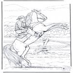 Diverse - Cowboy te paard