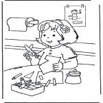Børne-malesider - Crafts