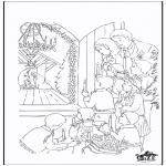 Jule-malesider - Crib 5