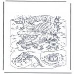 Dyre-malesider -  Crocodile 1