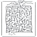 Håndarbejde - Dalmatian labyrinth