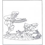 Sjove figurer - Dancing Pinocchio