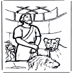 Bibel-malesider - Daniel's In The Lion's Den 1