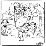 Bibel-malesider - Daniel's In The Lion's Den 3