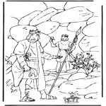 Bibel-malesider - David and Saul