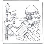 Bibel-malesider - David en Goliath 1