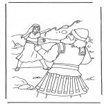 Bibel-malesider - David en Goliath 2