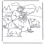 Bibel-malesider - David the shepherd