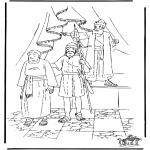 Bibel-malesider - De bakker in Egypte