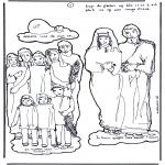 Bibel-malesider - Deel 1 Knutselwerk