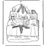 Bibel-malesider - Deel 3 Knutselplaat