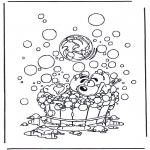 Sjove figurer - Diddl coloring pages