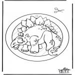 Dyre-malesider - Dino raamhanger