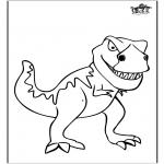 Dyre-malesider - Dinosauer 11