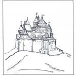 Sjove figurer - Disney castle