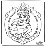 Sjove figurer - Disney Princess Belle 1