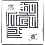 Håndarbejde - Dog labyrinth