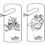 Håndarbejde - Doormark Pokemon