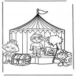 Børne-malesider - Dora the Explorer 13