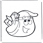 Børne-malesider - Dora the Explorer 18