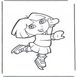 Børne-malesider - Dora the Explorer 22