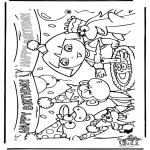 Børne-malesider - Dora the Explorer 25