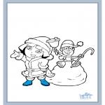 Børne-malesider - Dora the Explorer 28