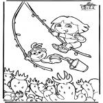 Børne-malesider - Dora the Explorer 6