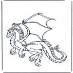 Dyre-malesider - Dragon 1