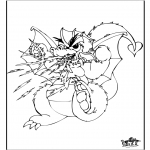 Dyre-malesider - Dragon 3