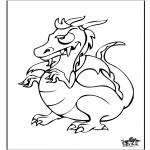 Dyre-malesider - Dragon 6