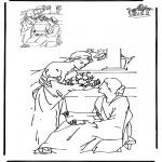 Bibel-malesider - Drawing Bible 1