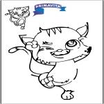 Håndarbejde - Drawing cat