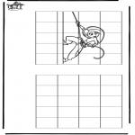 Håndarbejde - Drawing Kim