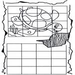 Håndarbejde - Drawing turtle