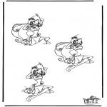 Håndarbejde - Drawing Winx 2