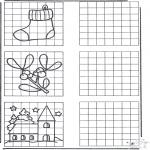 Håndarbejde - Drawing X-mas
