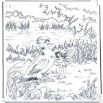 Dyre-malesider - Duck with elf