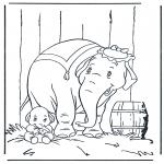 Sjove figurer - Dumbo 1