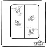 Sjove figurer - Dumbo 5