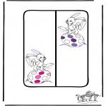 Tema-malesider - Easter Bookmark 1