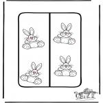 Tema-malesider - Easter Bookmark 2