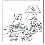 Tema-malesider - Easterbunny 11