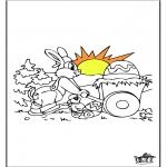 Tema-malesider - Easterbunny 13