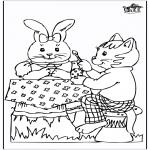 Tema-malesider - Easterbunny 20