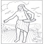 Bibel-malesider - Een zaaier ging uit om te zaaien