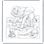 Dyre-malesider - Elephant 1
