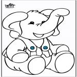 Dyre-malesider - Elephant 10